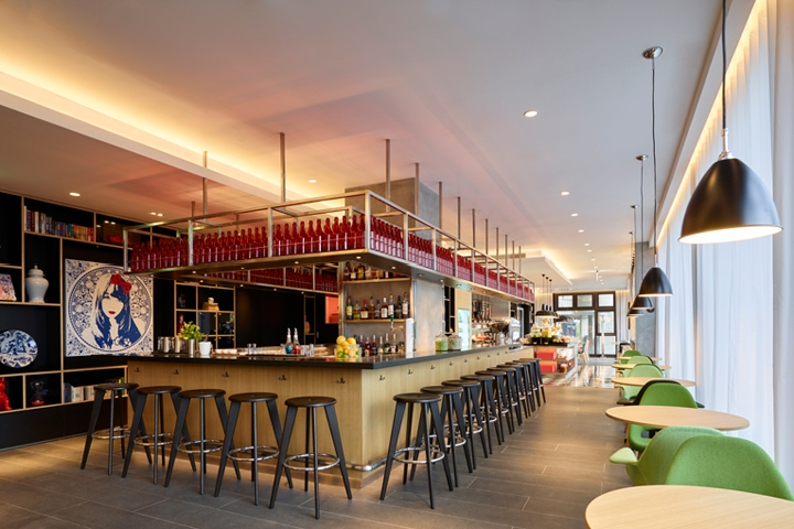 Citizenm hotel by concrete taipei taiwan retail for Design hotel taipei
