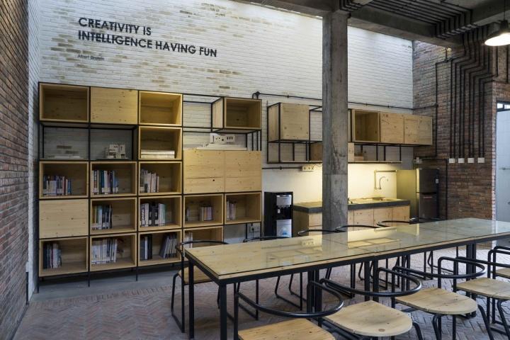 Co sharing office by andyrahman architect sidoarjo for Office design jakarta