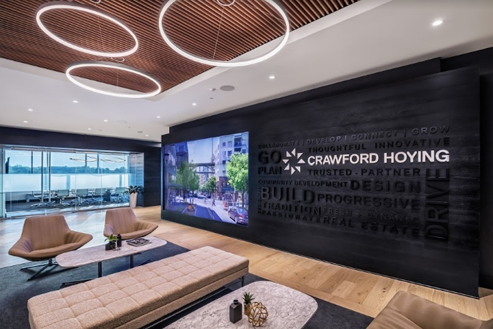 crawford hoying corporate office by kelly eyink at m a architects
