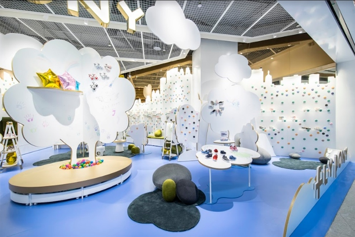FlyPony Flagship Concept Store By Prism Design Shanghai China