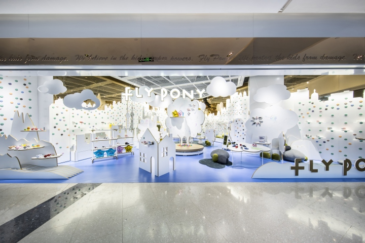 FlyPony Flagship Concept Store By Prism Design Shanghai