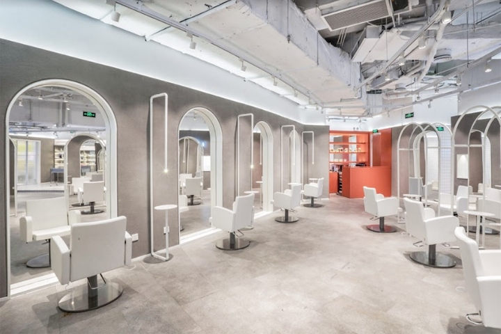 Iever beauty house by adam design shanghai china for Adam beauty salon