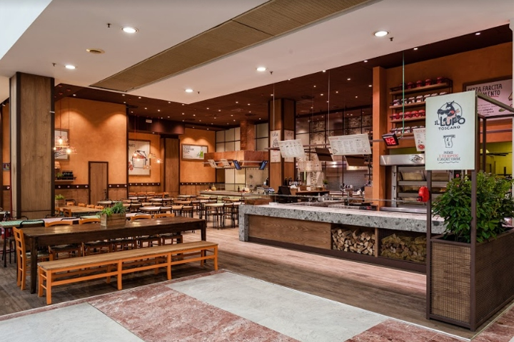 Materials From Tradition, A Simple Design With A Domestic Flair, A  Renovated Brand Design Characterize The New Concept For Il Lupo Toscano, A  Classic ...