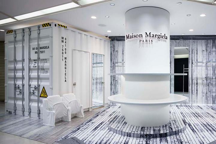 Maison Margiela Store Osaka Japan Retail Design Blog