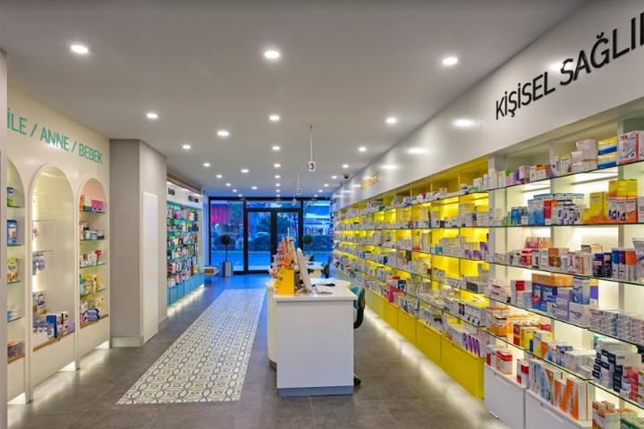 Yeni Hayat Pharmacy by Kst Architecture & Interiors, Antalya  Turkey