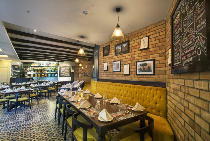Salt indian restaurant by choreography of spaces
