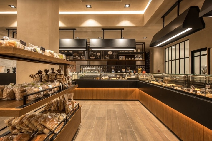 Savoidakis bakery & patisserie by Manousos Leontarakis & Associates,  Rethymno Crete  Greece