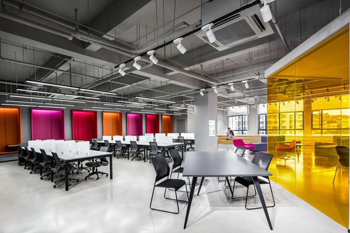 Shanghai Sunrise Polymer Material Office By CCDI GW Design China