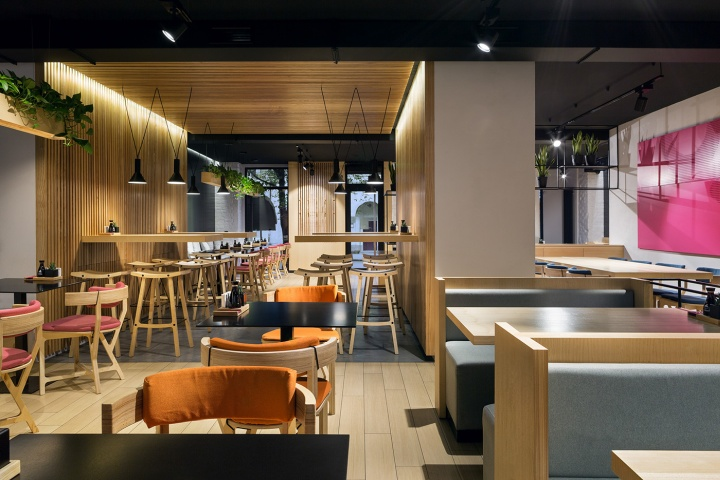 Yaposhka restaurant of japanese cuisine by canape agency