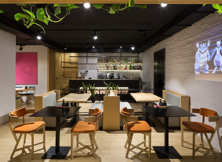 Yaposhka restaurant of japanese cuisine by canape agency for Canape restaurant