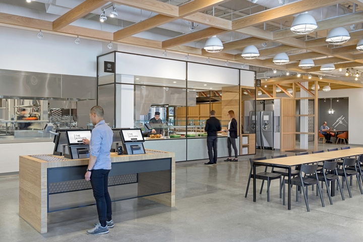 ebay office cafeteria by gensler san jose california retail