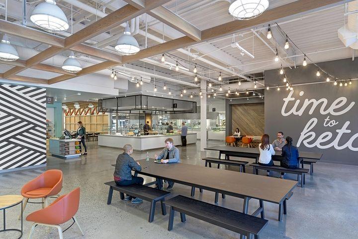 187 Ebay Office Cafeteria By Gensler San Jose California