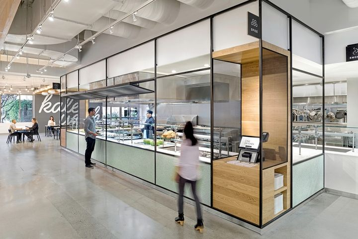 Ebay Office Cafeteria By Gensler San Jose California