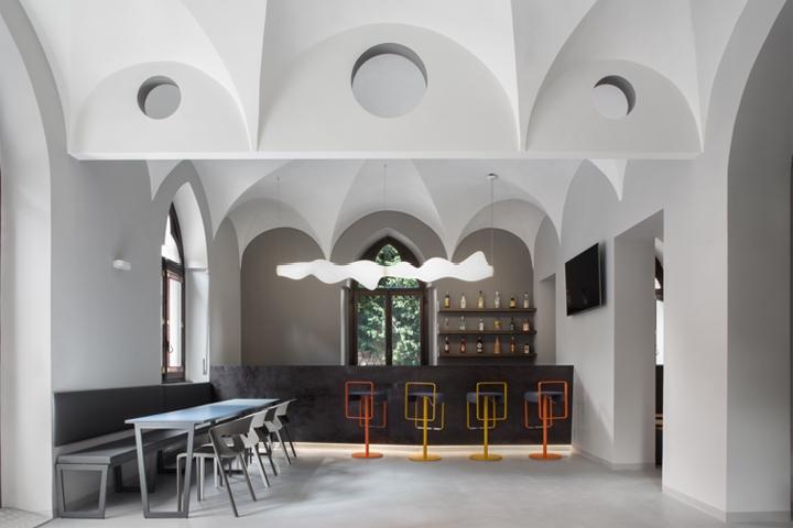 Babila hostel by studio arx2 milan italy retail for Hostel milan
