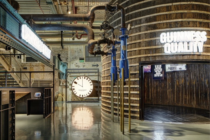 Brewing Floor Experience At The Guinness Storehouse By