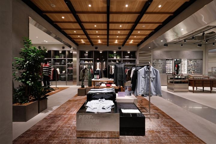 东京Diesel服装店设计