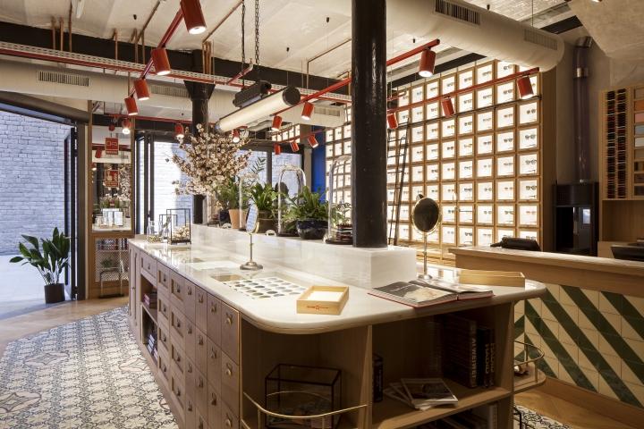 Etnia barcelona by lazaro rosa violan barcelona spain retail design blog - Tea shop barcelona ...
