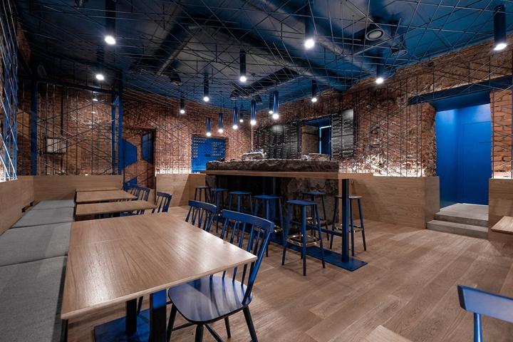 圣彼得堡FOODYDO Wrap Bar餐厅设计