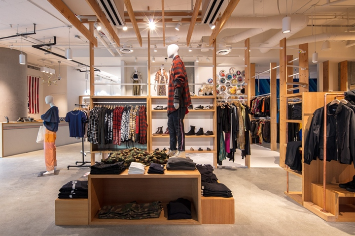 The multi brand partners and brand shops at the new fred segal store include multi line mens shop hartel the womens equivalent collective