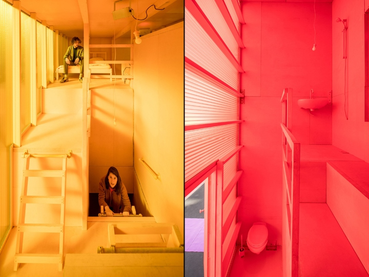 Futuristic hotel by mvrdv at dutch design week 2017 for Hotel decor 2017