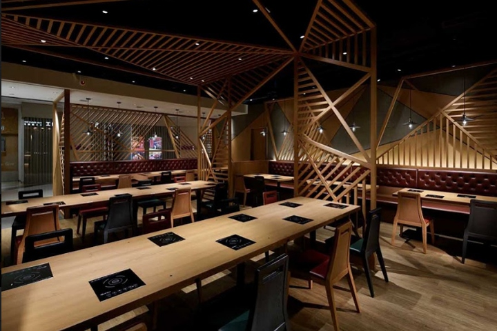 牛八/GYUHACHI restaurant by STUDIO C8, Hong Kong