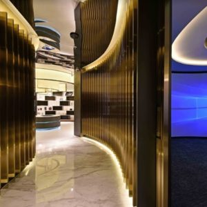 Sennheiser Headphones & Headsets Microphones Business Source · Gold 800 Experience Centre by Spacemen Shanghai China by retail design blog