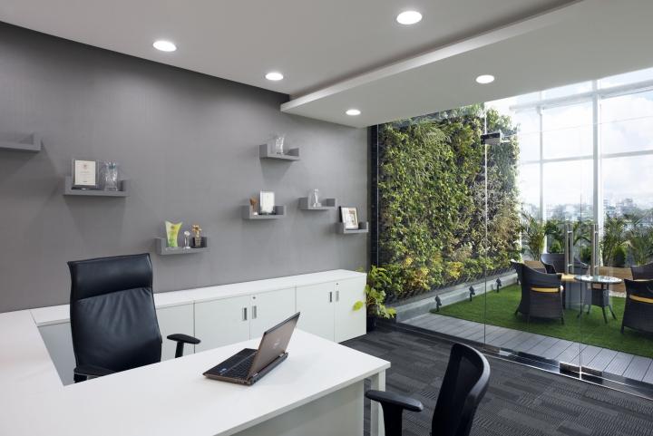 stunning office interior design wall art | » IIFL Office, Wealth and Asset Management by Zyeta ...