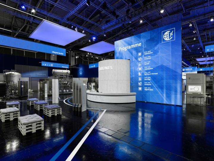 ET Global Exhibit Group - KRONES DRINKTEC 2017 München