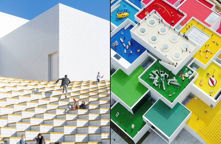 Lego House By Big Billund Denmark