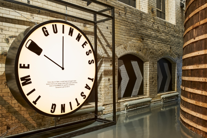 Guinness Storehouse Brewing Floor