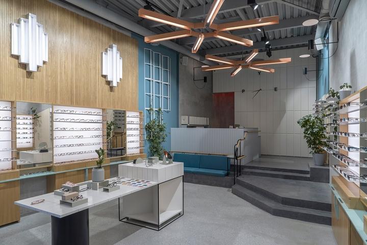 圣彼得堡PYE眼镜商店设计