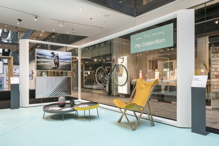 Samsung Stand Stilwerk Berlin by Cheil Retail Design