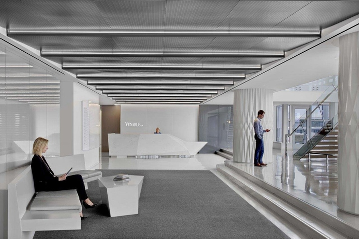 Alliance Architecture Designed The Offices Of Law Firm Venable Located In Washington DC Venables New Headquarters Occupies Over 80 600