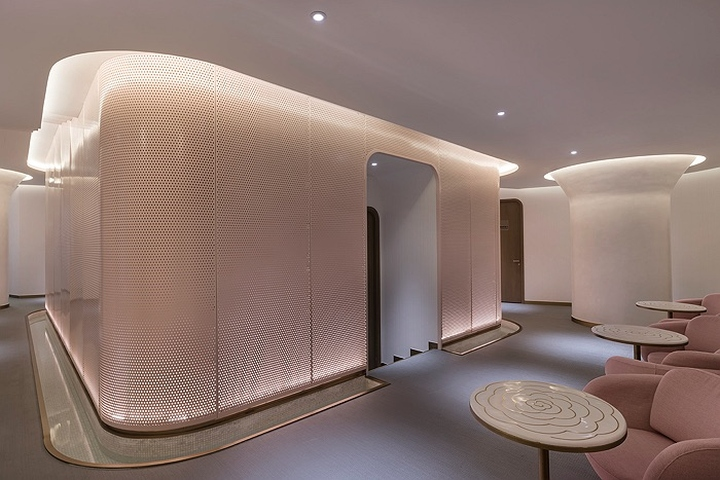 187 45cm Luxury Skincare Center By Ne On Beijing China