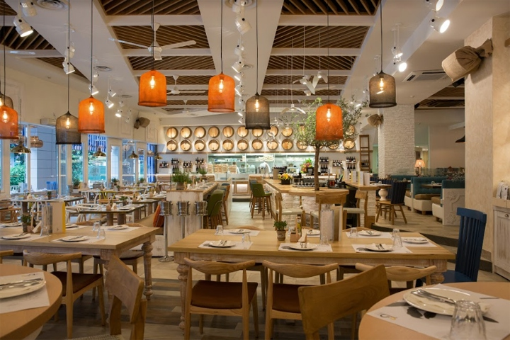Bakalaki greek taverna by dimitris economou interiors