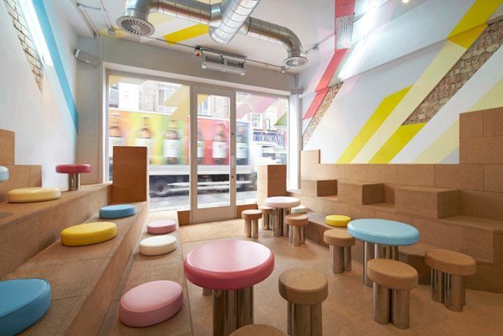 Biju tea room by gundry ducker and ico design london for Tea room design quarter