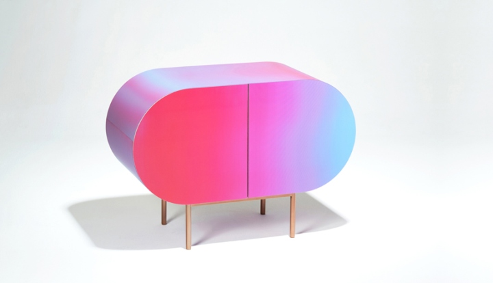 The Chameleon Esque Pieces Change In Color Depending On Your Position And  Movement, A Visual Change Which Hopes To Remind The User Of Their  Relationship ...