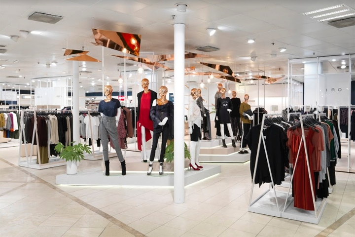 9504741a68d Danish department store, Magasin du Nord, has unveiled its new premium  contemporary women's department, designed and made by Office Twelve.