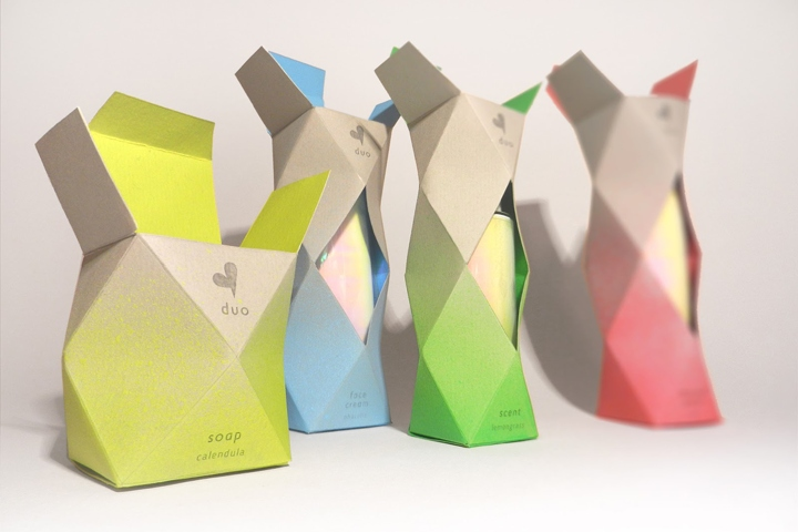 Duo Cosmetics Packaging By Katarzyna Wieteska