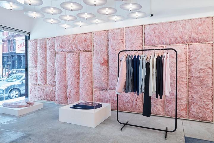 Ervell store by Patrik Ervell and Joseph Whang New York City