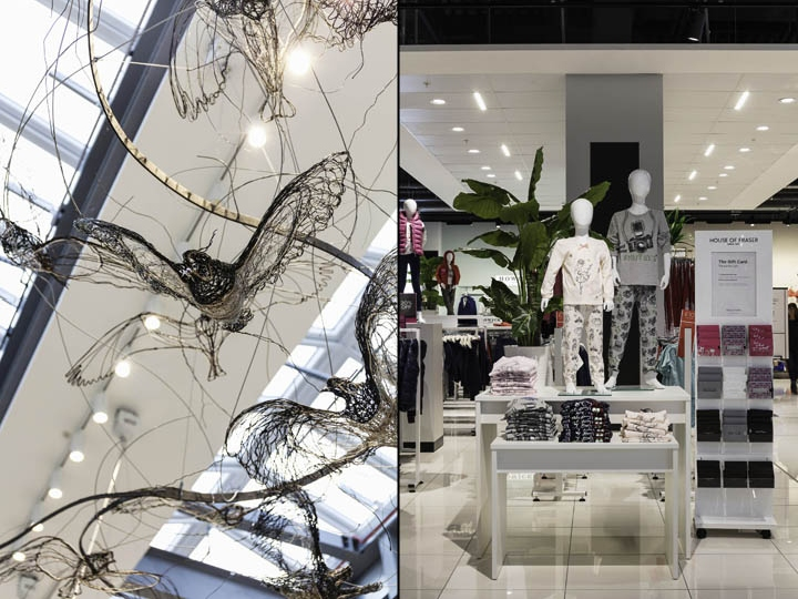 House of fraser rushden lakes by kinnersley kent design - Signature interiors and design kent ...