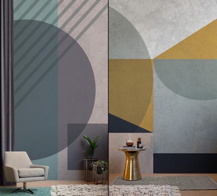 Industrial Luxe By Murals Wallpaper 187 Retail Design Blog