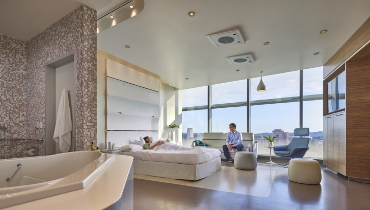 Jacobs medical center by cannondesign la jolla san - San diego interior design center ...