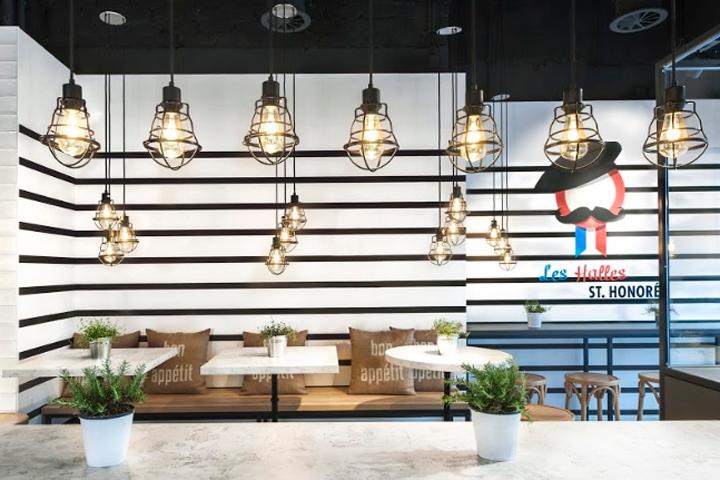 les halles restaurant bistro shop by ppm planung düsseldorf germany