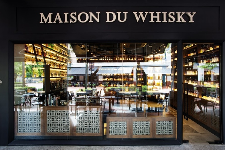 La maison du whisky by ielo design singapore for La maison du design