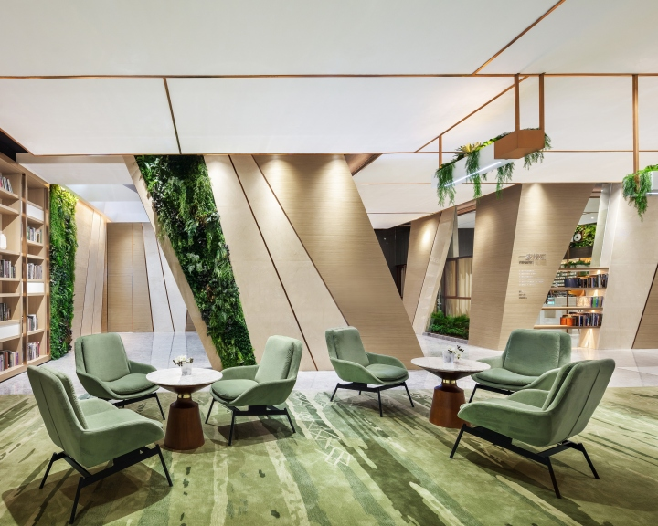 Oppein Showroom By P A L Design Group Guangzhou China
