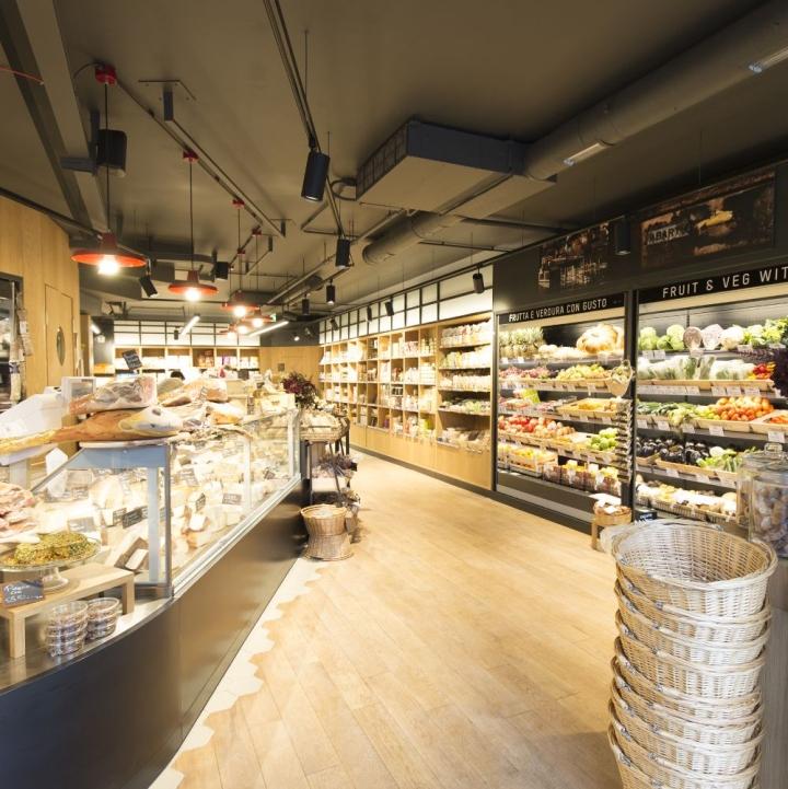 Prezzemolo vitale london store by studio didea afa for Vitale arredamenti