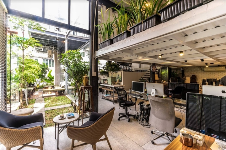 Soulroom office by soulroom holding module k interior for Office design vietnam