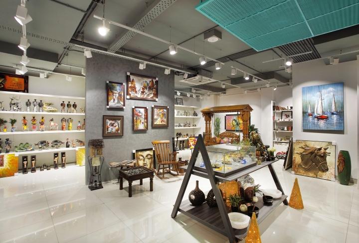 印度班加罗尔Tesor装饰品店设计