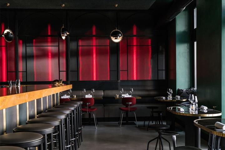 Private dining room retail design blog for Interior designer deutschland